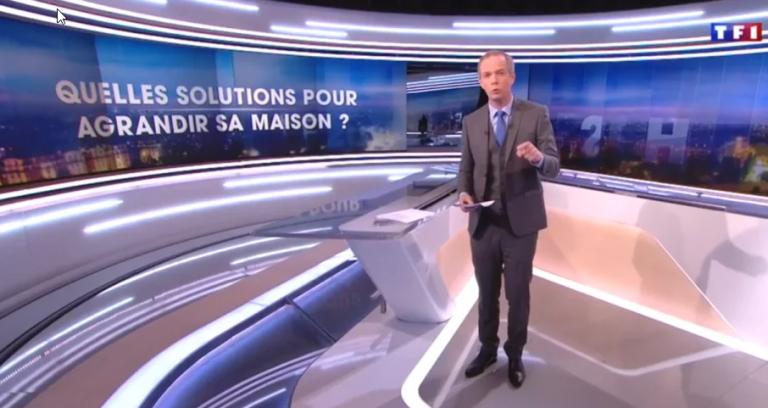 Combles et Création sur TF1 !