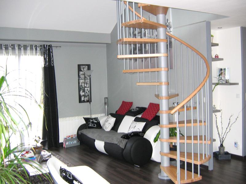 des escaliers